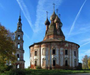Церковь Казанской иконы_Курба